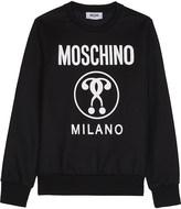 Moschino Logo print sweatshirt 4-14 years