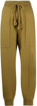 Ulla Johnson Cropped Drawstring Trousers