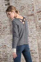 Lilla P Crossed Back Sweatshirt