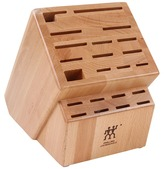 Zwilling J.A. Henckels Wood Block - Deluxe 22 Slot Knife Block (Natural) - Home