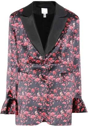 Huishan Zhang Ivy floral-printed silk jacket