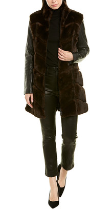Bagatelle Bagatelle.City Leather Coat