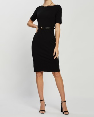 Dorothy Perkins Western Belted Pencil Dress