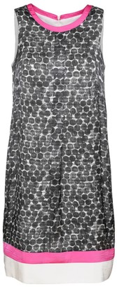 Conquista A-Line Sleeveless Print Dress