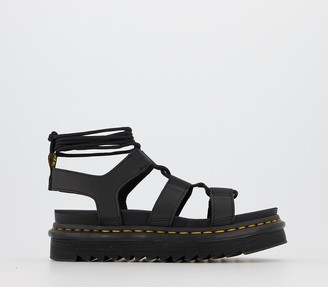 Dr. Martens Nartilla Sandals Black Hydro