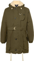 Nigel Cabourn - Antarctic Shearling-lined L27 Ventile Down Parka