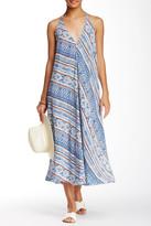 Lush Printed Halter Neck Dress