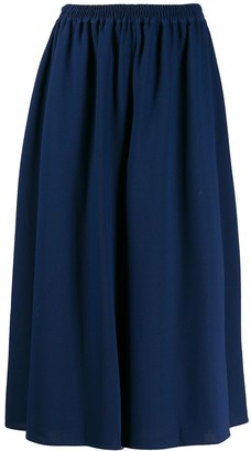 See by Chloe Cropped Flared Trousers