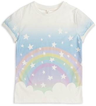 Stella Mccartney Kids Rainbow Print T-Shirt (2-14+ Years)
