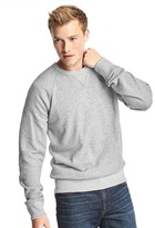 Gap French terry crewneck pullover