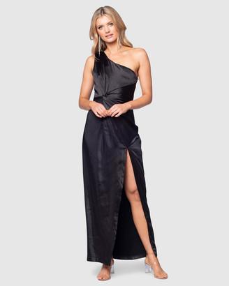 Pilgrim Women's Black Maxi dresses - Ashlin Dress - Size One Size, 6 at The Iconic