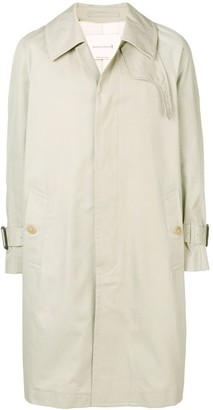 MACKINTOSH Sand Cotton Oversized Fly-Fronted Trench Coat GM-129BS