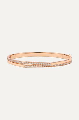 Repossi Antifer 18-karat Rose Gold Diamond Bracelet
