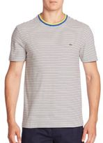 Lacoste Short Sleeve Resort Stripe Tee