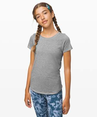 Lululemon Rise Shine Repeat Short Sleeve - Girls
