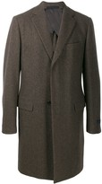 Lanvin cashmere single-breasted coat