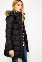 Jack Wills Bassingbourne Longline Padded Coat