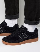 New Balance Suede Soccer Trainers In Black Ct288bl