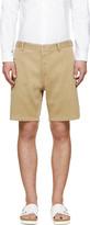 Visvim Beige Ribbed Pastoral Shorts