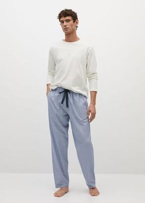 MANGO Cotton pyjama pack
