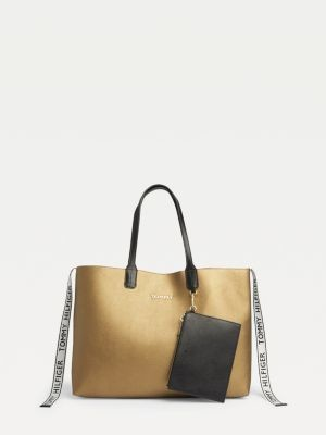 Tommy Hilfiger Tommy Icon Metallic Tote