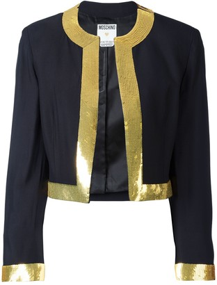 Moschino Pre-Owned sequin trim jacket