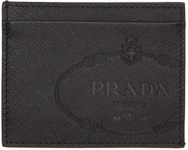 bb39d2a851871f Mens Prada Card Wallet - ShopStyle