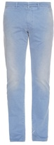 Tomas Maier Slim-leg Weathered Cotton Trousers