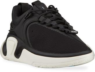 Balmain Men's B Court T Asymmetric Chunky Sneakers