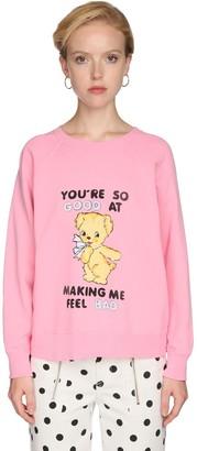 Marc Jacobs Printed Jersey Sweatshirt