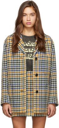 McQ Multicolor Check Pocket Coat