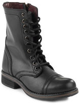 Steve Madden Troopa Leather Combat Boots