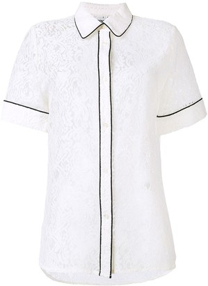 Essentiel Antwerp Lace Piped Shirt