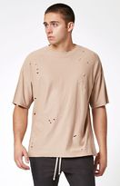 PacSun Moulin Destroyed Relaxed T-Shirt