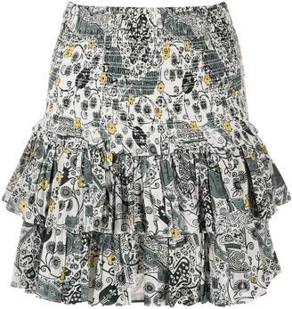 Etoile Isabel Marant Layered Mini Skirt
