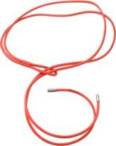 Brunello Cucinelli Neon Leather Double Wrap Belt