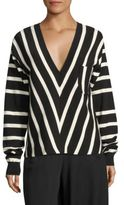 Chloé Cotton Striped Top