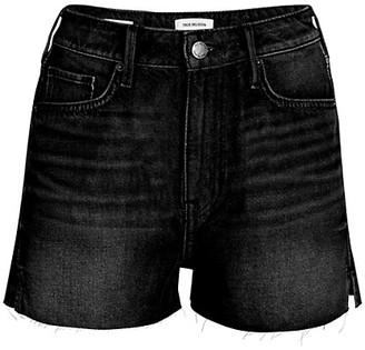 True Religion Caia Cutoff Denim Shorts
