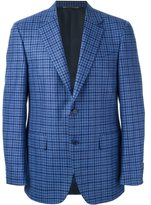 Canali classic fit checked blazer