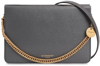 Givenchy Cross 3 Leather & Suede Shoulder Bag