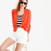 J.Crew Cropped lightweight cardigan sweater