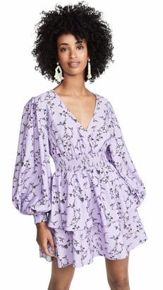 Keepsake Women's Secure Princess Sleeve Fit & Flare Mini Dress