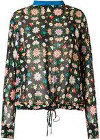 Reinaldo Lourenço - silk floral blouse - women - Silk - 36
