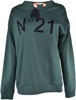 N°21 N 21 Printed Logo Sweatshirt