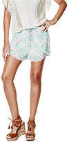 G by Guess GByGUESS Women's Florenela Crochet-Trim Shorts