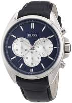 HUGO BOSS Men's 1512882 Leather Quartz Watch