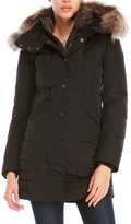 Parajumpers Real Fur Trim Hooded Down Angie Coat