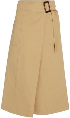 Intermix Cora Cotton Wrap Skirt