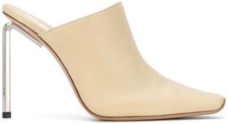 Off-White Allen square-toe mules