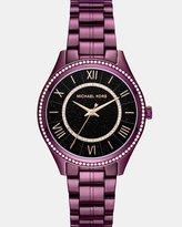 Michael Kors Lauryn Plum Analogue Watch